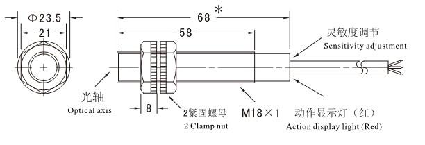 npn光电传感器电路图