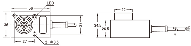无触点接近开关wjk-ii 2a(水泥厂包装机用)